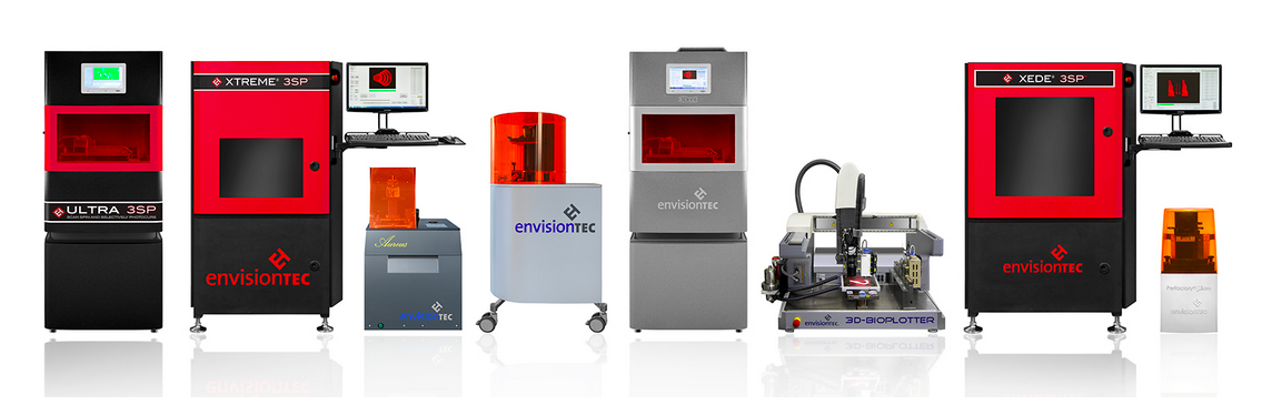 EnvisionTec 3D Additive Mfg Printers